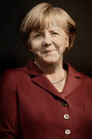 Celebrity Portrait Angela Merkel